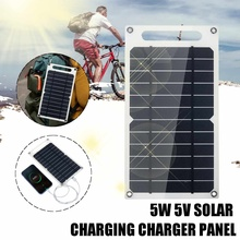 6V 10W 1.5A Portable Monocrystalline Solar Panel Slim & Light USB Charger Charging Power Bank Pad sc 10w 10w mobile solar charger power bank usb 5v