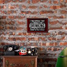 Logo Wrought Iron Sign Ice Cold Drinks Decoration Iron Painting Classic Poster Plaque Pub Bar Club Cafe Shop Home Wall Decor(China)