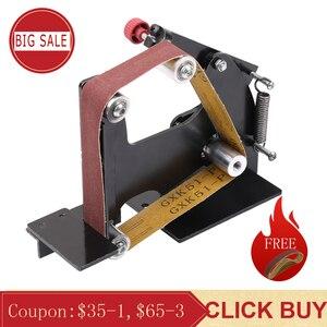 Image 1 - Elektrische Eisen Winkel Grinder Schleifen Gürtel Adapter Für 100/115 125 Zubehör von Schleif Maschine Schleifen Polieren Maschine