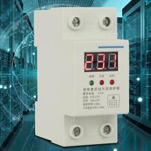 40A 230V 2P Din rail Automatic Reconnect Recovery Over & Under Voltage Relay Protective Device  surge protector