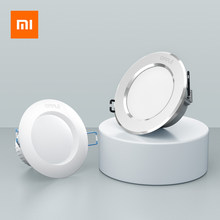 Original Xiaomi Mijia OPPLE Downlight 3W LED Light Lamp Color Temperature Round Ceiling Recessed Light for Home Office(China)