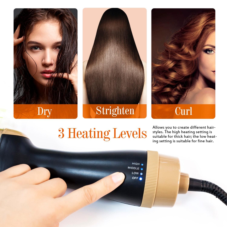 cabelo íon negativo pente 3 in1 um