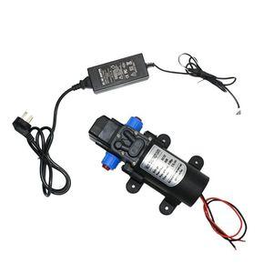 Image 3 - Pompe à eau haute pression, 12 v, 60/80/100w, pour lavage de voiture et irrigation, avec adaptateur 12 v