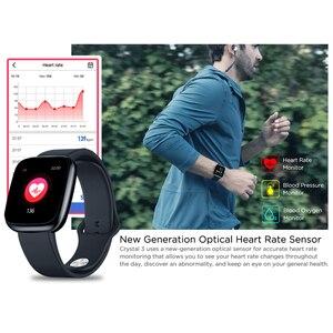 Image 2 - Zeblaze ساعة ذكية كريستال 3 الذكية الفرقة 1.3 بوصة شاشة Mulit اللغة WR IP67 معدل ضربات القلب ضغط الدم عمر البطارية الطويل IPS