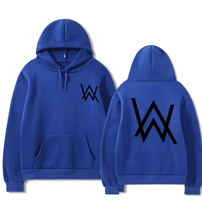 2021 Fall/Winter Alan Walker Hoodie Couple Loose Large Size Wild Casual Men and Women Pullover 10
