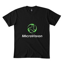 Microvision clássico t camisa 173dmn sudadera con cuello redondo negro