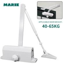 MARIE 1303 White Color Aluminum Alloy Door Protector 40kg-65kg Automatic Hydraulic Buffer  Door Closer