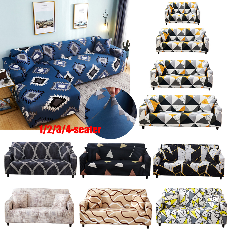All-inclusive Stretch Sofa Cover Slipcovers Elastic Couch Case For Different Shape Sofa Loveseat Chair L-Style Sofa Case