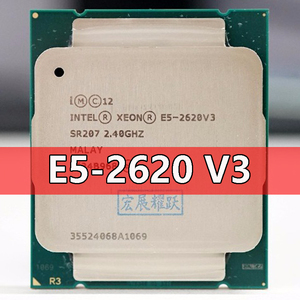 Intel Xeon Processor E5 2620 V3 CPU 2.4G Serve LGA 2011-3 E5-2620 V3 2620V3 PC Desktop processor CPU For X99 motherboard
