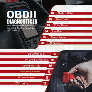 Image 5 - Autel MD806 Obd2 Scanner Diagnostic Auto Tool Car Diagnostic Four System Diagnoses EPB/Oil Reset/BMS DPF Batter Than MD805 MD802