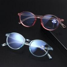 Ультра-светильник, гибкая классическая круглая оправа, унисекс, TR90, плоское зеркало, анти-синий светильник, защита от излучения, очки для зрения, очки для ухода