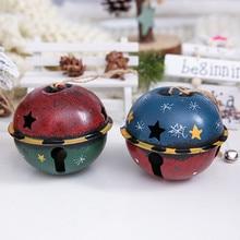 Железный колокольчик, Рождественское украшение, Рождественская елка, подвеска, рождественские украшения для дома, рождественские фенечки, колокольчики, искусство# T2
