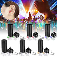 27dB Noise Reduction Cancelling Hearing Protection Earplug For DJ Concert Musician Drummer Motorcycle Riding Reusable Sleep Care