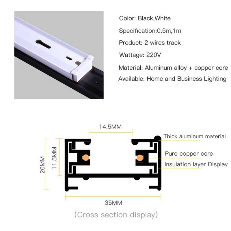 4 pcslote 05m 1m via ferrea para luz conduzida da trilha lampadas 02