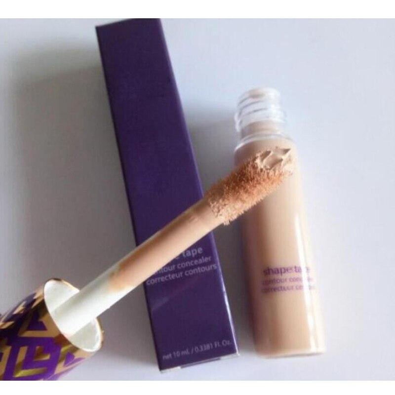Face Concealer 5 Colors Shape Tape Contour Concealer Fair Light  Medium Light Sand 10ml Liquid Foundation