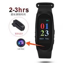 Удивительный Цвет 1080p hd видеокамера фото рекордер часы умный