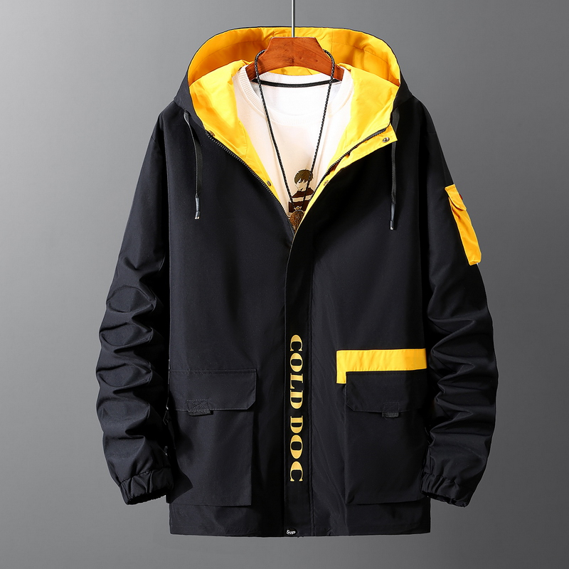 2019 Plus Size 9XL 8XL 7XL Spring Autumn Bomber Jacket Men Fashions Hip Hop Streetwear Baseball Jacket Men Coat Men Jacket