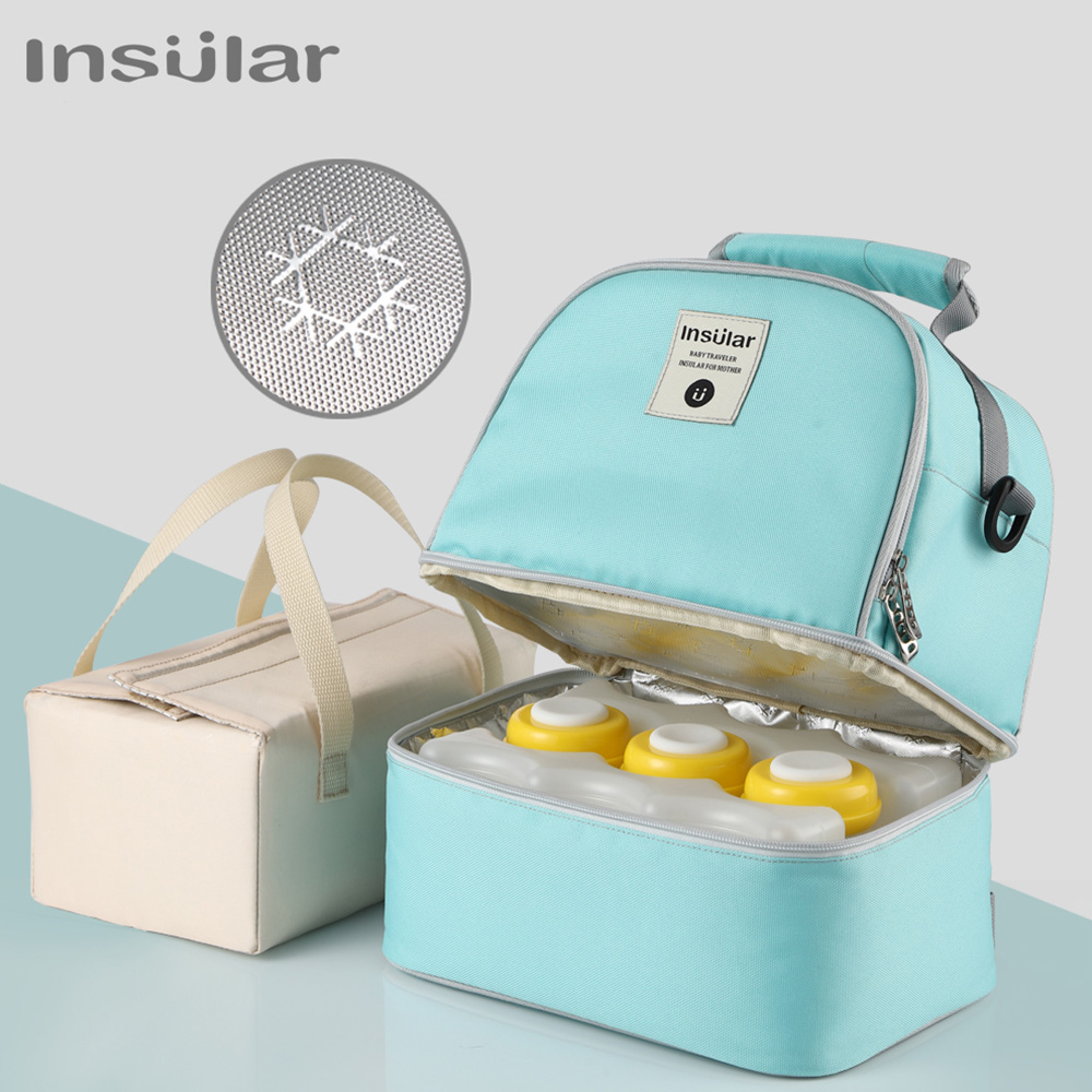 Mummy Maternity Bag For Baby Nappy Backpack Large Diaper Bag Mom Outdoor Stuff Travel Breast Milk Preservation Pack Organizer image