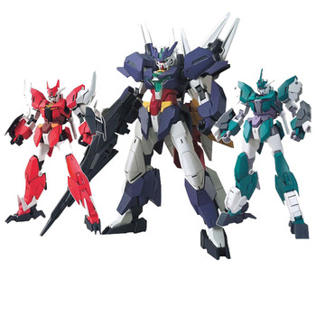 GAOGAO HG 1/144 Gundam Build Divers EARTHREE GUNDAM Earth Mars Venus Assembly Model Action Toy Figures Children's Gifts 2