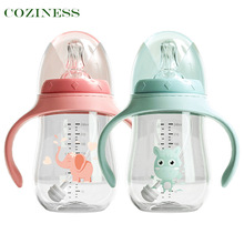 COZINESS Baby Dual-Use Bottle Drinking Cup Small Baby Bottle Professional Custom Food Grade Children Straw Cup Newborn Training