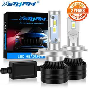 Headlight-Bulbs Automobiles-Lamp Turbo Led 9006 Hb4 20000LM Canbus Mini H3 H11 9005 H7