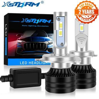 2Pcs 80W 20000LM H7 LED Canbus H1 H3 H4 H8 H11 9005 HB3 9006 HB4 Led Headlight Bulbs Car Lights Mini Turbo Automobiles Lamp