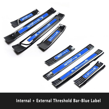 for  Kia Sportage threshold bar Modified 18-19 Sportage stainless steel welcome pedal decoration accessories
