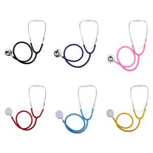 Image 4 - כפול צדדי רפואי קרדיולוגיה רופא סטטוסקופ מקצועי רפואי לב סטטוסקופ אחות תלמיד רפואי ציוד מכשיר
