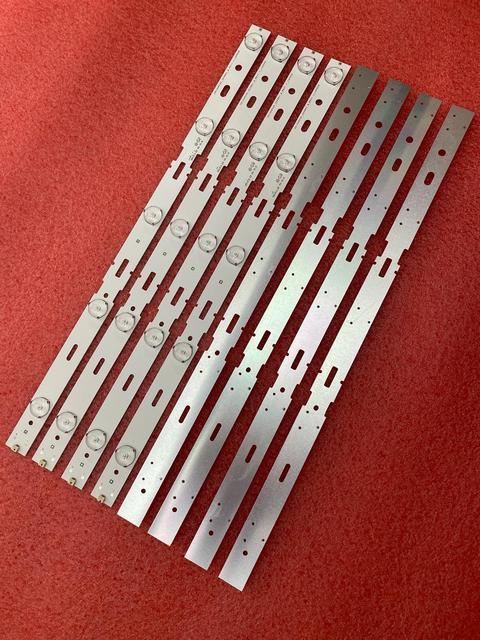 جديد 5 مجموعة = 40 قطعة 5LED 428 مللي متر LED شريط إضاءة خلفي للتلفزيون 40VLE6520BL SAMSUNG_2013ARC40_3228N1 40 LB M520 40VLE4421BF