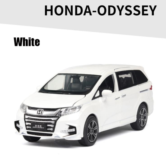 1:32 HONDA ODYSSEY SUV Diecasts & Toy Vehicles Metal Car Model Sound Light Collection Car Toys For Children Christmas Gift