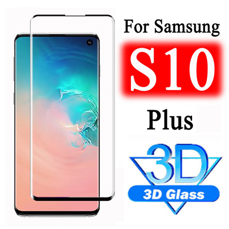 Tempered Glass For Samsung S10 Plus S9 S8 S10e Protective Glas Screen Protector On For Galaxy Note 10 Pro 8 9 S10Plus 10 Note10