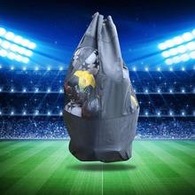 Soccer Equipment Large Capacity Bag Outdoor Basketball Volleyball Big Ball  Adjustable Bag Heavy Duty Ball Mesh Equipment