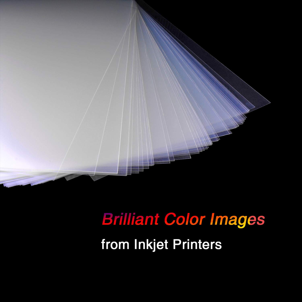 A4 Inkjet Laser Transparency Positive Film Photographic Waterproof For Screen Printing