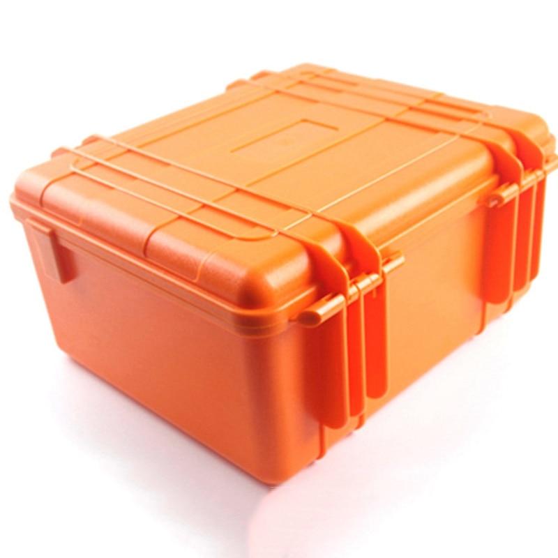 Pp Oranje Verzegelde Waterdichte Drogen Doos Veiligheid Apparatuur Doos Draagbare Gereedschap Outdoor Survival Duiken Snorkelen Opbergdoos - 2