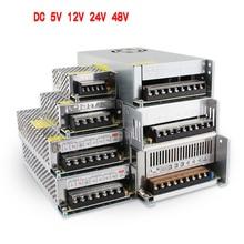 SMPS 5V 12V 24V 48 V Netzteil SMPS 5 12 24 48 V AC-DC 220V ZU 5V 12V 24V 48 V 1A 2A 3A 5A 10A 20A 30A Schaltnetzteil
