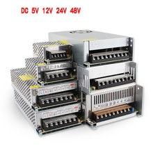 SMPS 5V 12V 24V 48 V alimentatore SMPS 5 12 24 48 V AC-DC 220V a 5V 12V 24V 48 V 1A 2A 3A 5A 10A 20A 30A alimentatore Switching