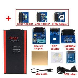Image 3 - Adaptador iprog kline do adaptador do can ônibus de iprog 2020 v85 iprog adaptadores do mb do ir de porgrammer com melhor preço