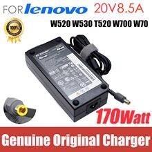 Для Lenovo Thinkpad 20V 8.5A W520 W530 170W 42T5284 блок питания для ноутбука адаптер переменного тока шнур зарядного устройства