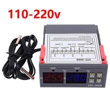 Stc 3008 двойной цифровой регулятор температуры два релейных