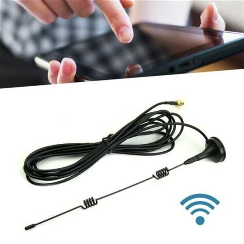 For Wireless CCTV Camera Wifi Extension Antenna Sucker 3 Meters Extender Cable