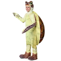 Kids Sea Turtle Costume Ocean Animal Green Chelonia Mydas Cosplay Halloween Costume For Children Carnival Party Suit Dress Up