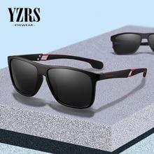 YZRS Brand Mens Sunglasses Polarized for Driving Plastic Sun Glasses Men Vintage Shades UV400 Eyewear