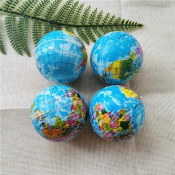 4 sztuk 6 3cm PU pianki ziemi globalny mapa świata piłki anty stres ulga wycisnąć piłki piłki zabawki dla dzieci dzieci tanie i dobre opinie SONGYI Unisex Piłeczka antystresowa BL101 Z pianki Sport 0-12 miesięcy 13-24 miesięcy 2-4 lat 5-7 lat 8-11 lat 12-15 lat