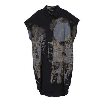 Black Vintage Summer Dress 6
