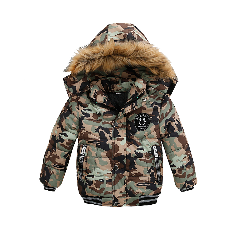 2021 NEW High Quality Winter Child Boy Down Jacket Parka Big Girl Thicking Warm Coat 2 3 4 5 6 Year Light Hooded Outerwears 3
