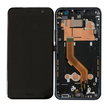 Original 5.5 AMOLED LCD For HTC U11 Display Touch Screen Frame Digitizer Assembly U-3w U-1w U-3u