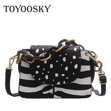 TOYOOSKY Luxury Handbags Women Bags Designer Crossbody for Shoulder Bag Crocodile Leather Purse Bolsa Feminina