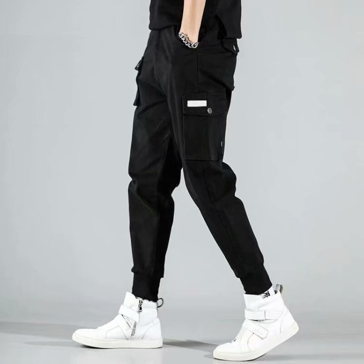 Teenager Sports Pants 12-13-14-15-16 Years Old Middle School Students Boy Autumn Workwear Handsome Casual Pants