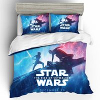 Star Wars Bedding Sets Fashion Simple Style Home Textiles Full King Bed Linen Duvet Cover Bedding Set Single Queen Bed Set