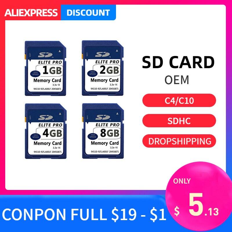 Sd-karte de Memórias de Carte Sd-cartão Speicherkarte 8 2gb Secure Digital-cartao Sdxc 1gb gb 4gb